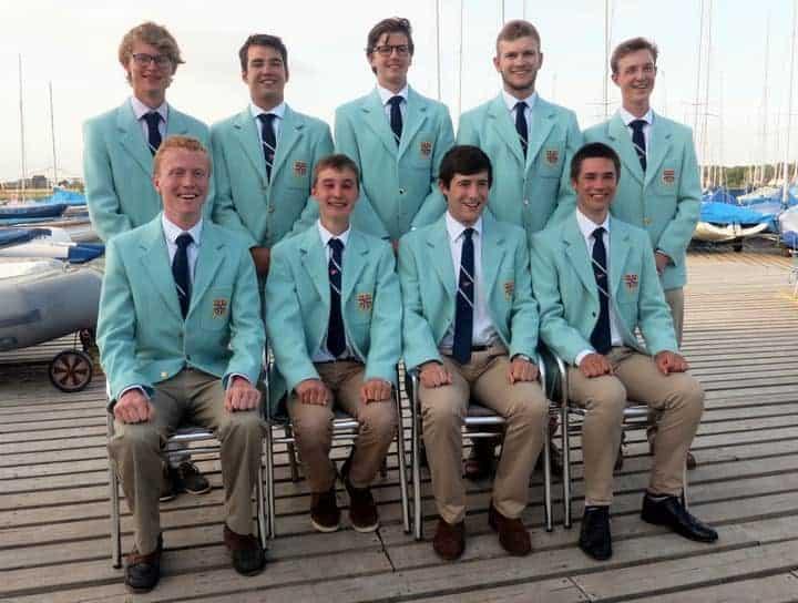 Photo of Cambridge team