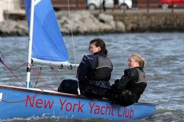 Photo of Cambridge ladies sailing - All about Cambridge team racing