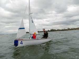 Photo of dinghies sailing for Cambridge sailing student data protection