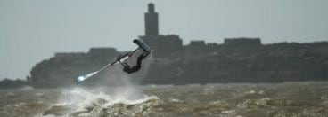 Photo of windsurfer