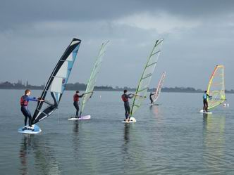 Photo of some windsurfing