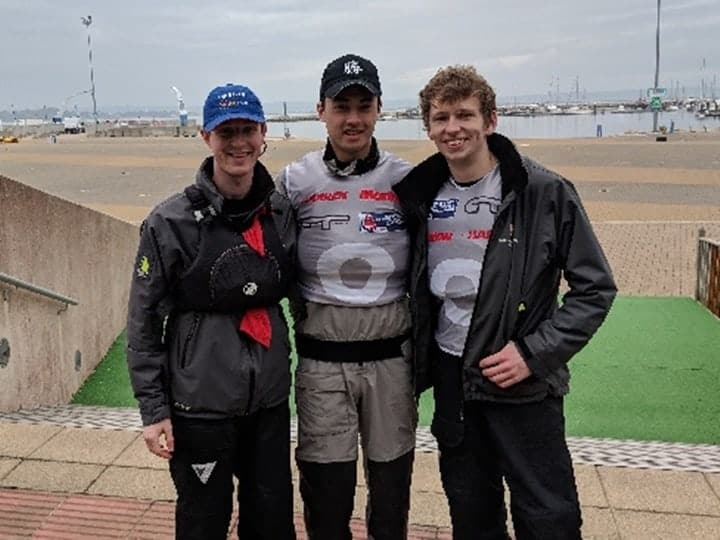 Team photo for BUSA Match Racing