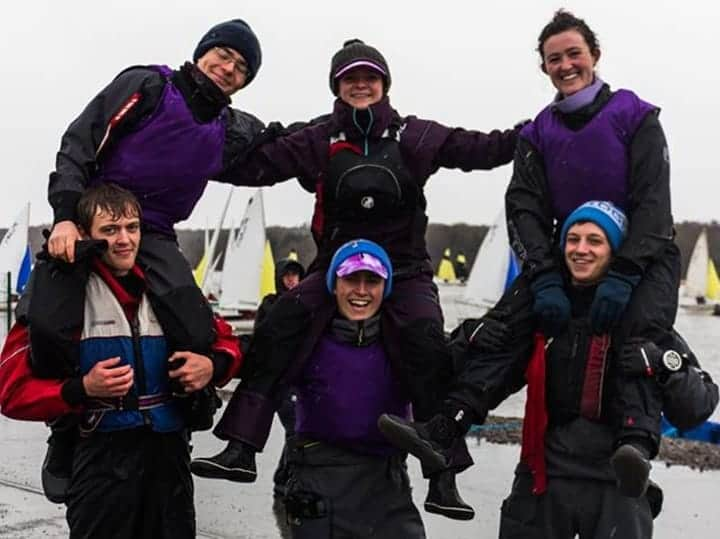 Photo of Cambridge Purple team for BUSA team racing 2018