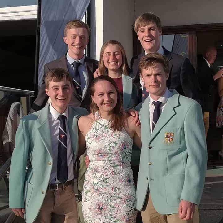 Photo of Cambridge Blue team at Wilson Trophy