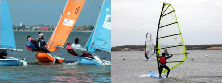 Photo of sailing, windsurfing, kitesurfing for Cambridge students