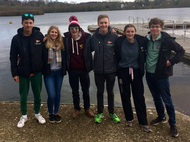 Cambridge Blue team for 2019 Wessex Warmer
