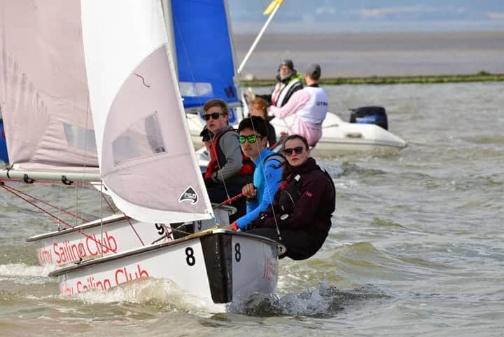 Dinghies sailing for Wilson 70 Trophy 2019