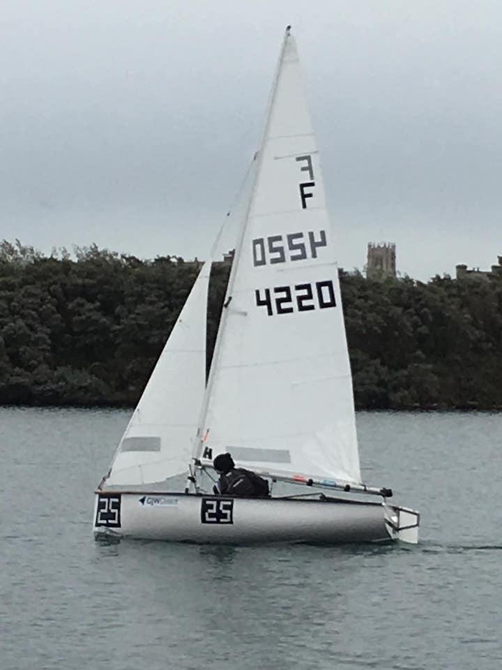 Cambridge sailing in the West Lancs 24 hour race