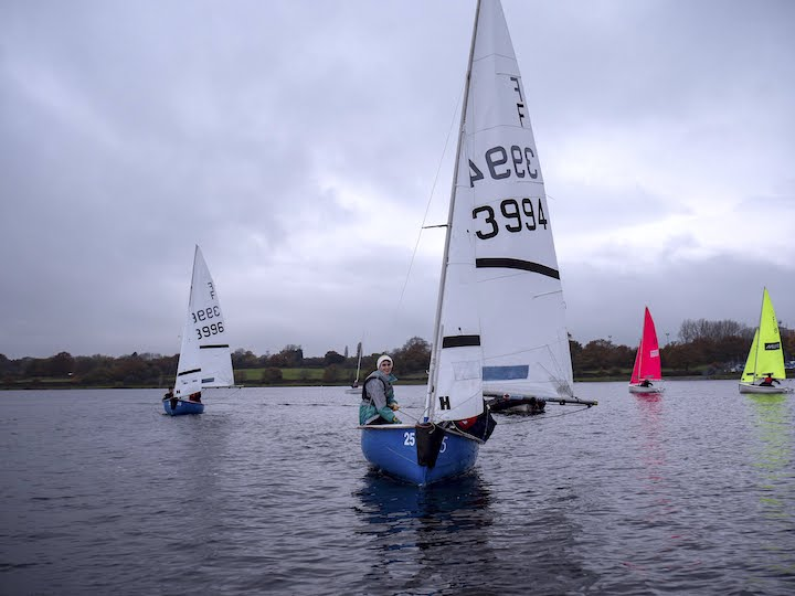 Cambridge Sailor Adam Rathmell competing for the winning team OTRA