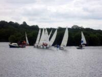 Photo of dinghies racing